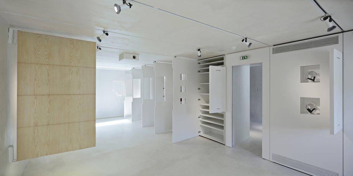 Communal room as storage space