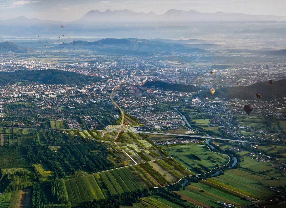 Rakova Jelsa aerial view