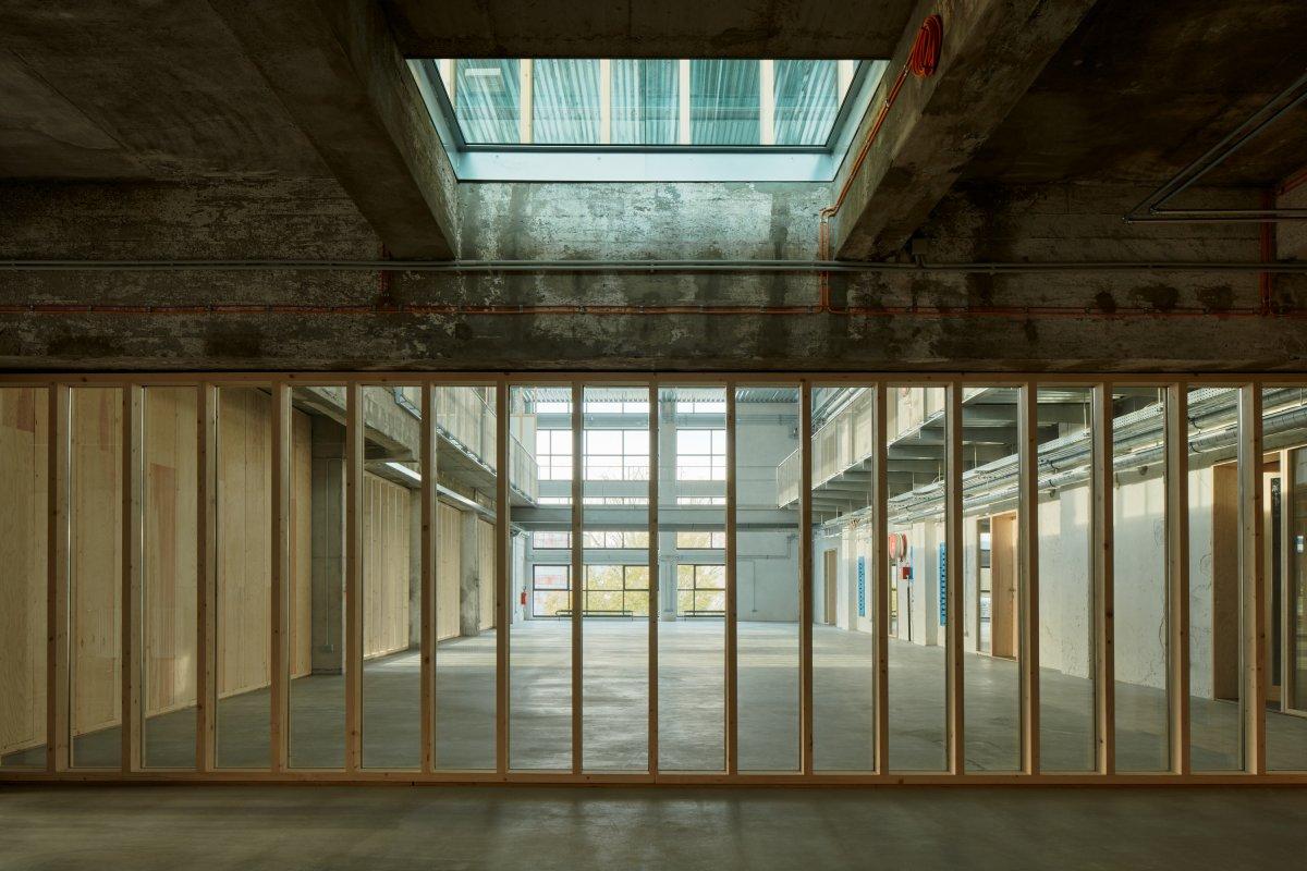 Office interior on 2nd floor