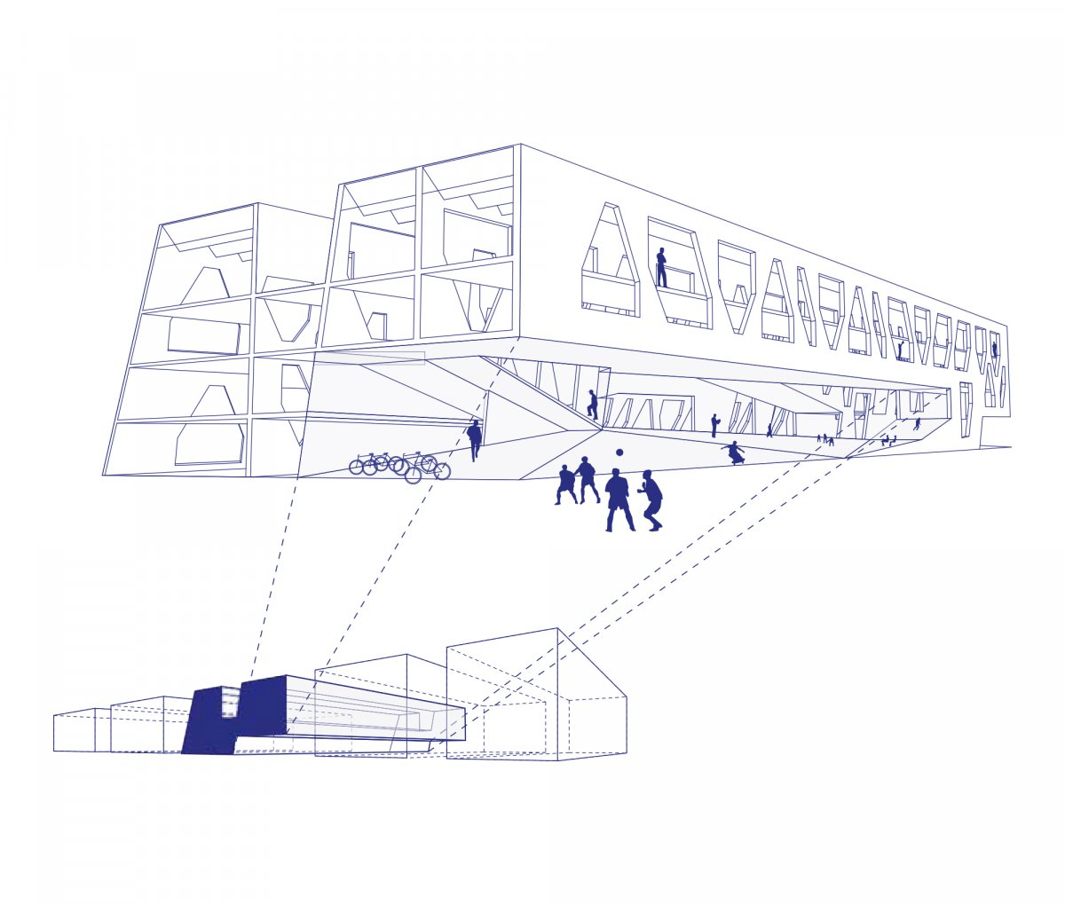 Diagram-passage-square