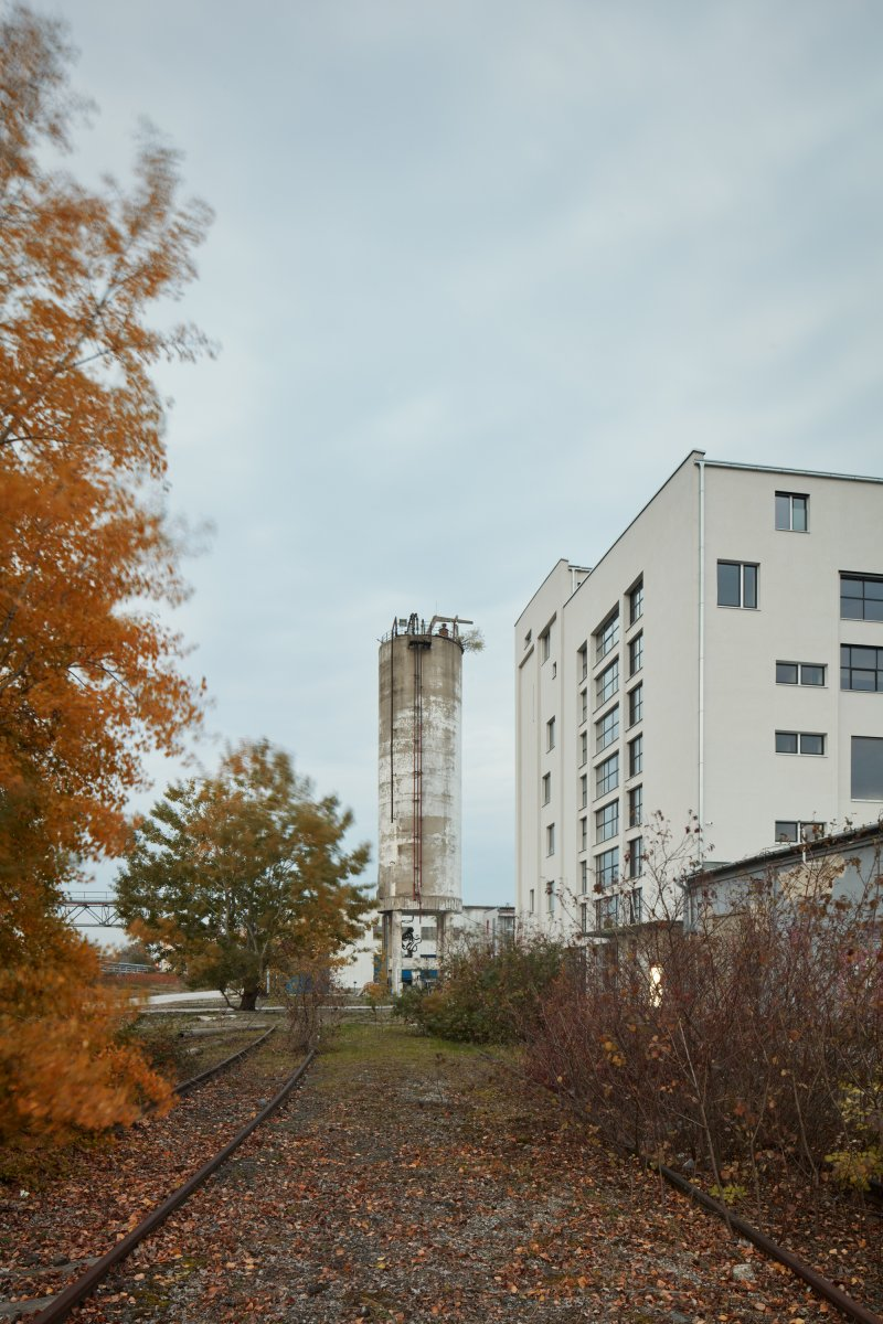 Mlynica with former Silo building