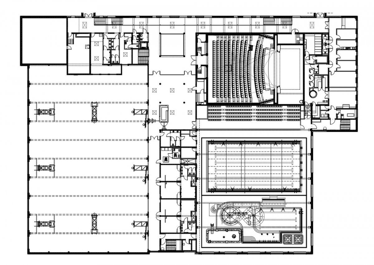 Multifunctional Building, Plan View