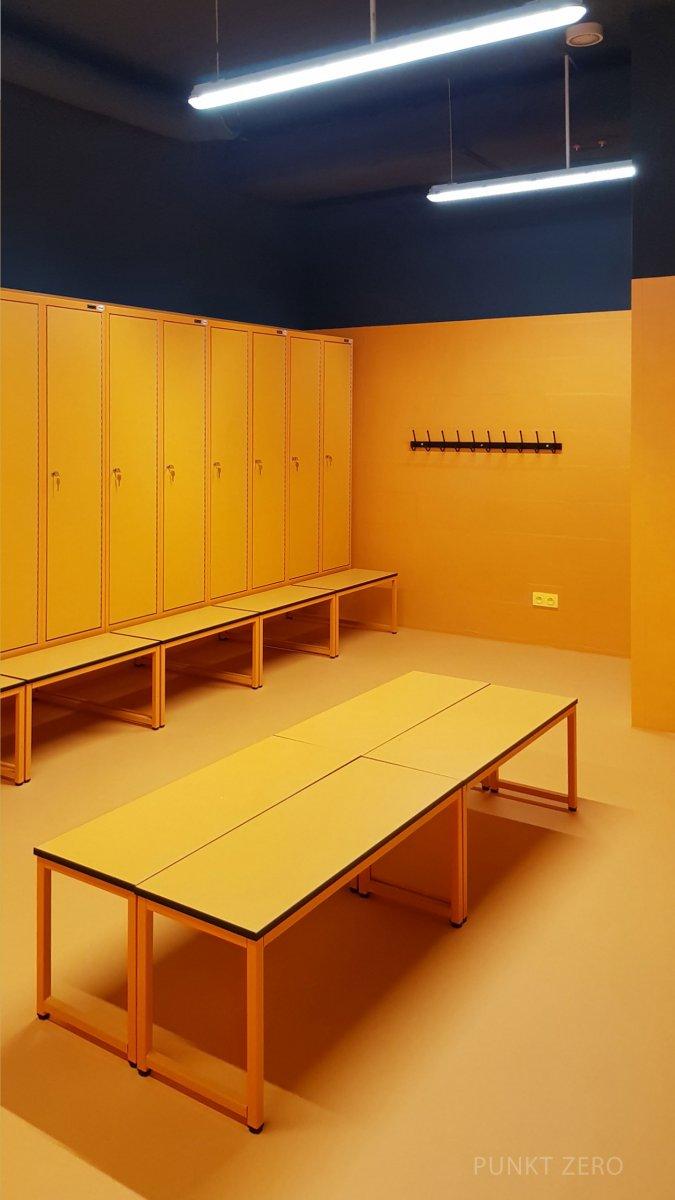Multifunctional Building, Locker Room