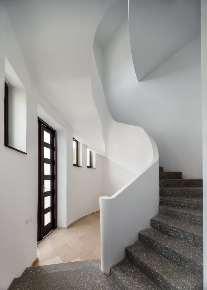 The second stairs