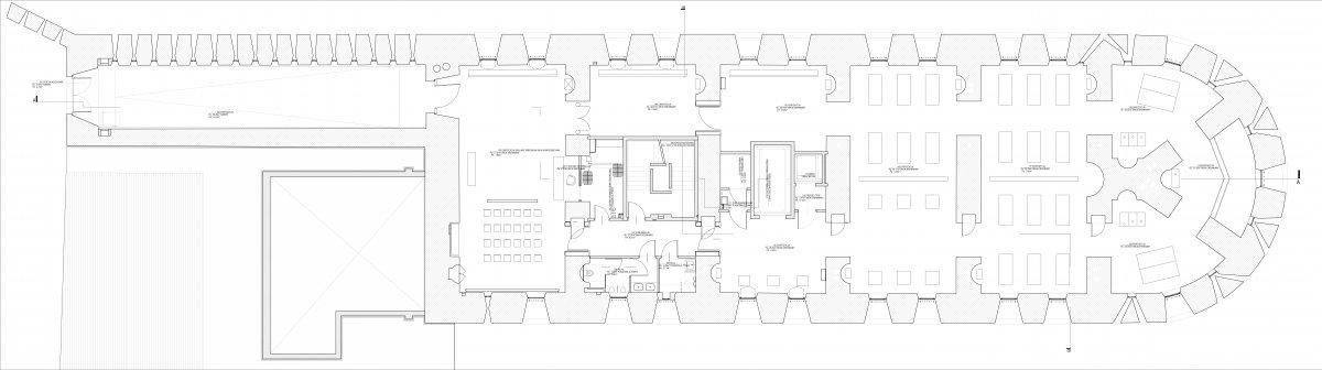 plan of Kaponiera