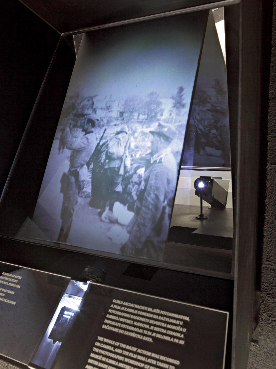 Memorial room - optical device detail