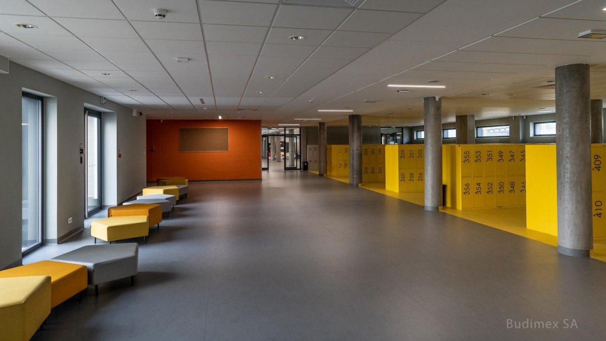 Primary School, Locker Hall