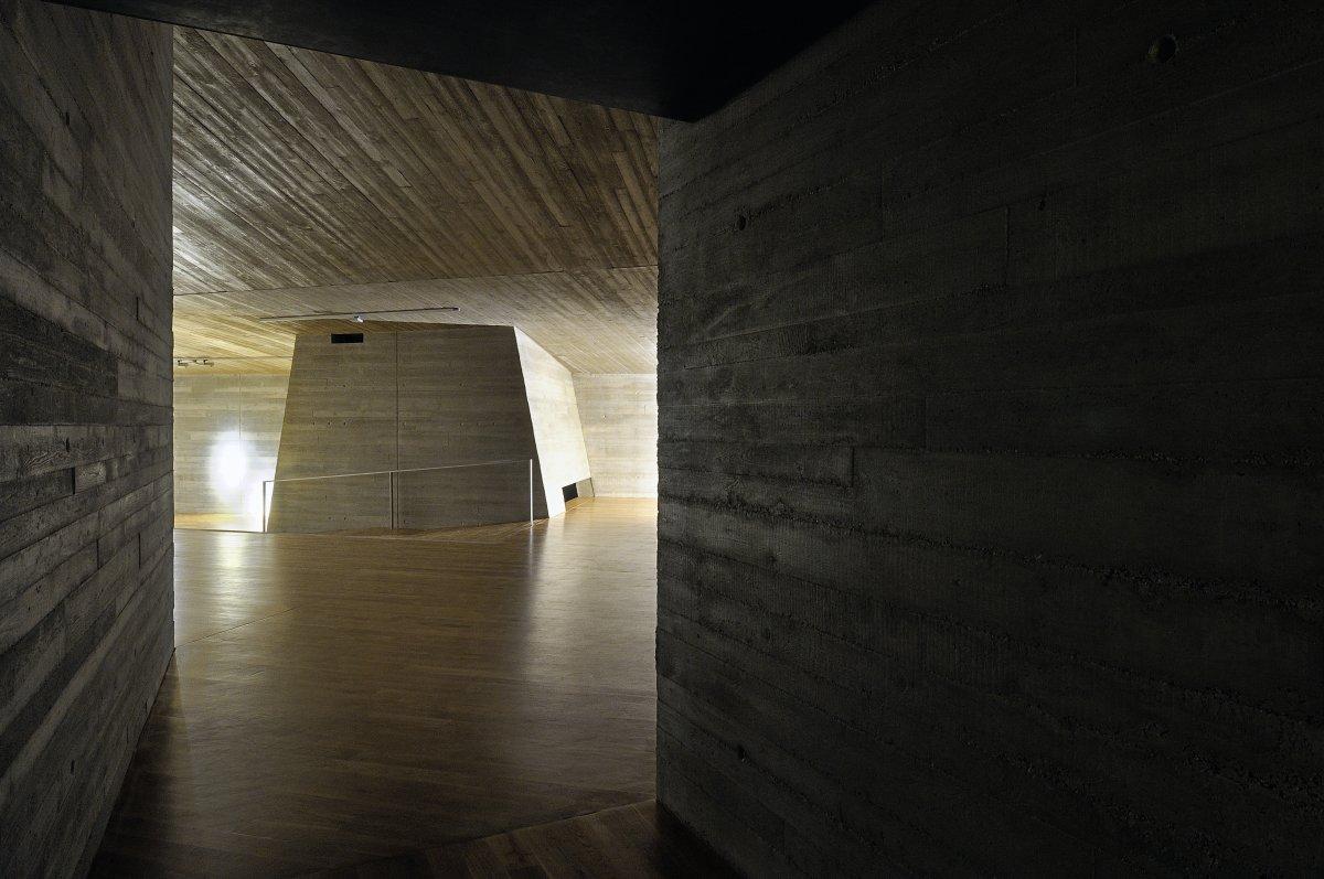 Inside of Archeopark Pavlov