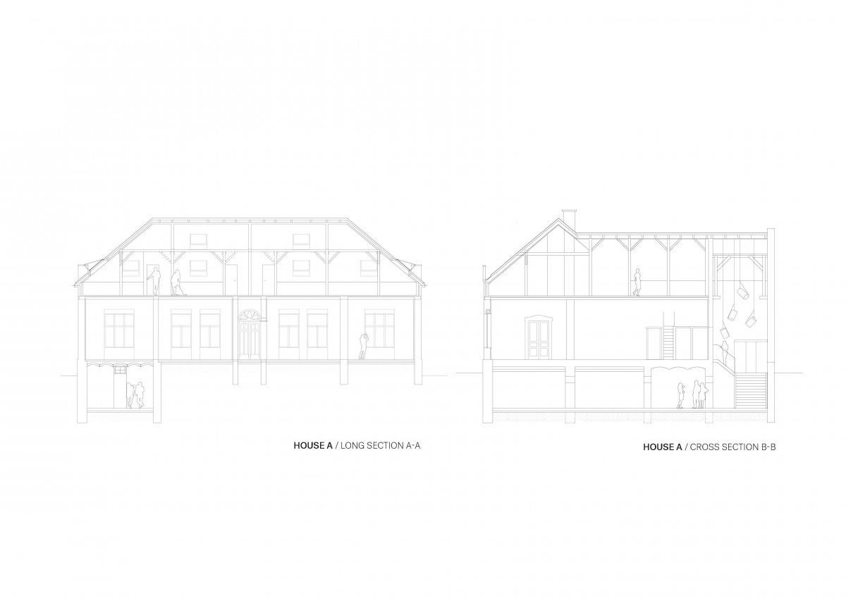 HOUSE A SECTIONS