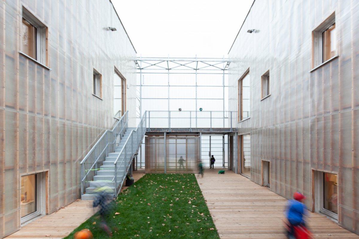 Inner yard (atrium)
