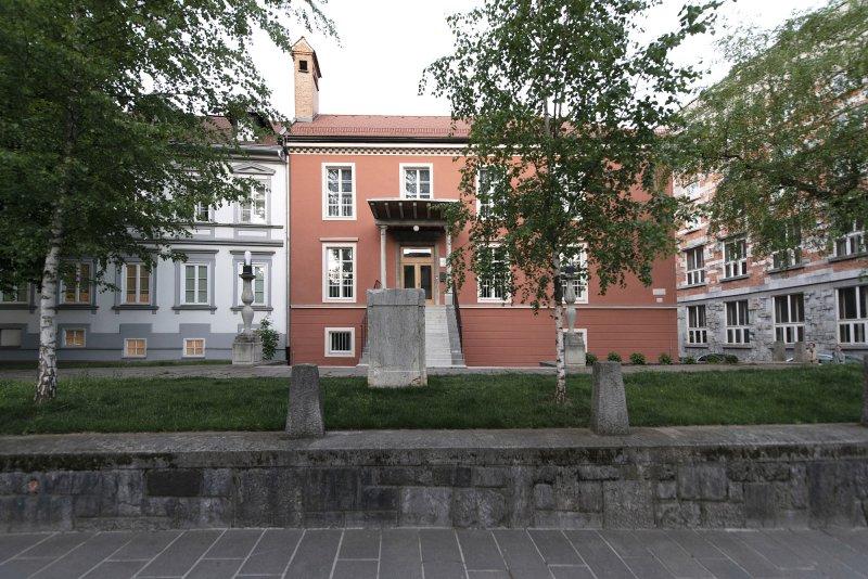 Refurbished historic facade