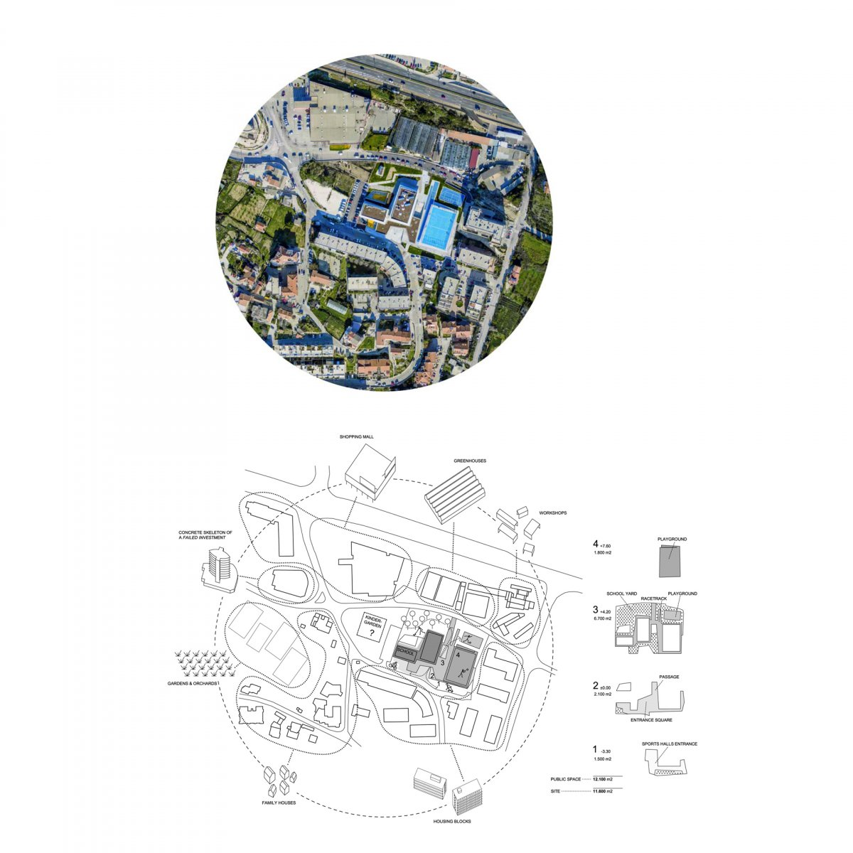 site plan / conext