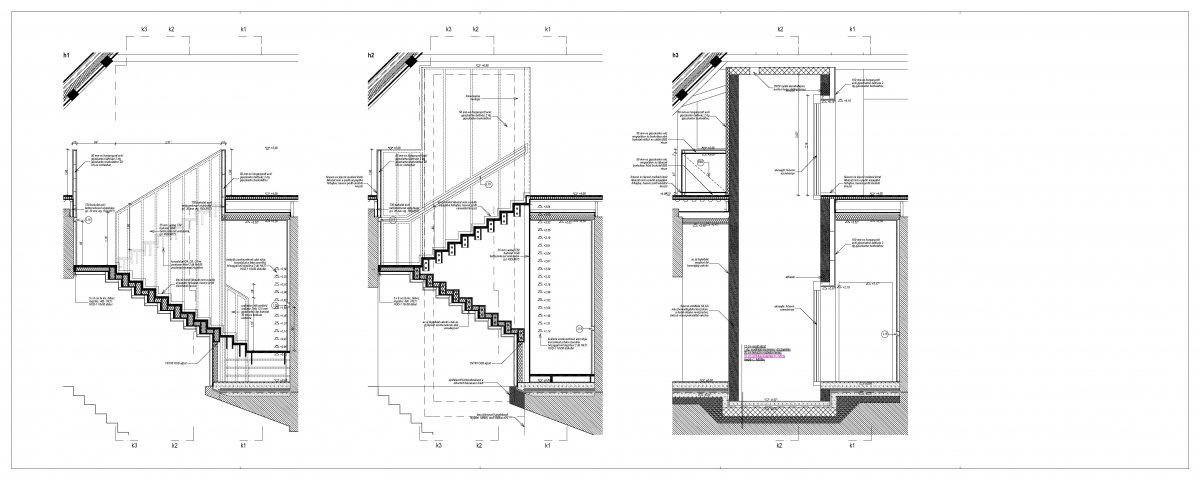 Staircase plan