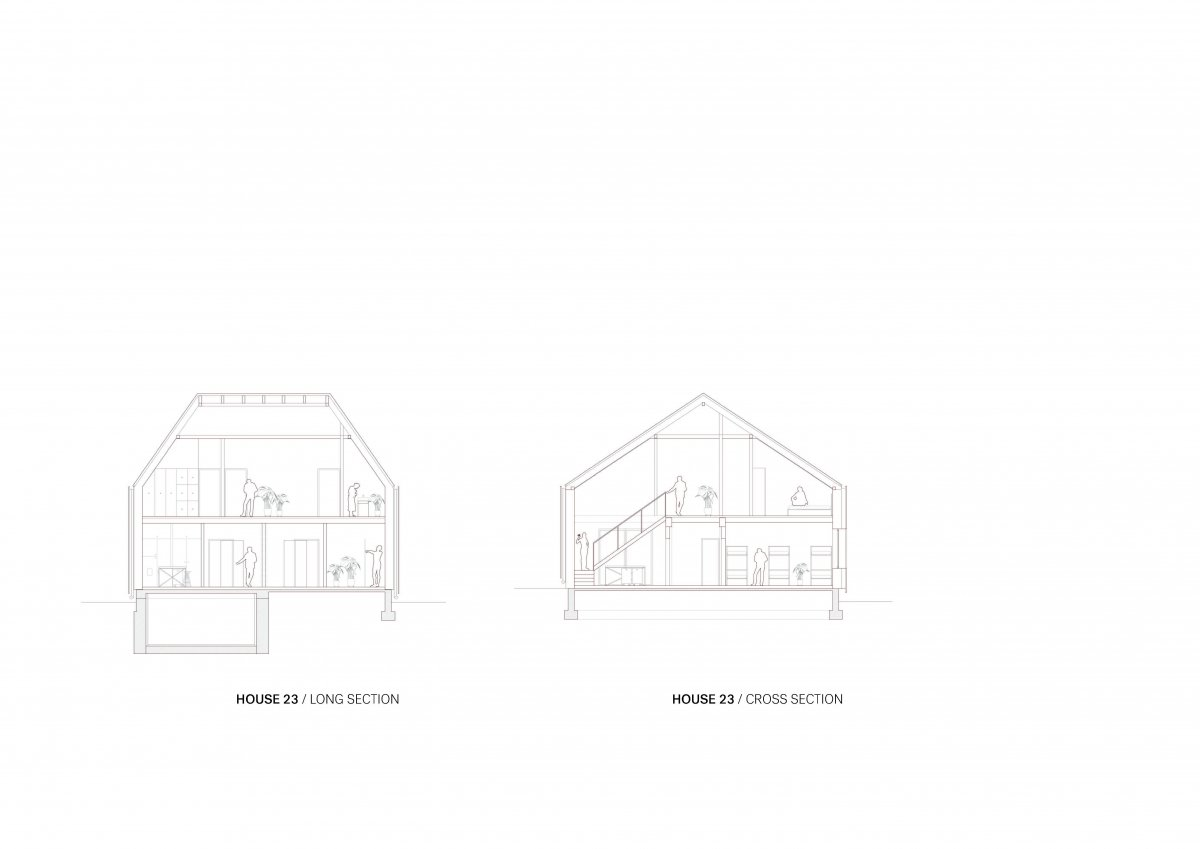 HOUSE 23 SECTIONS