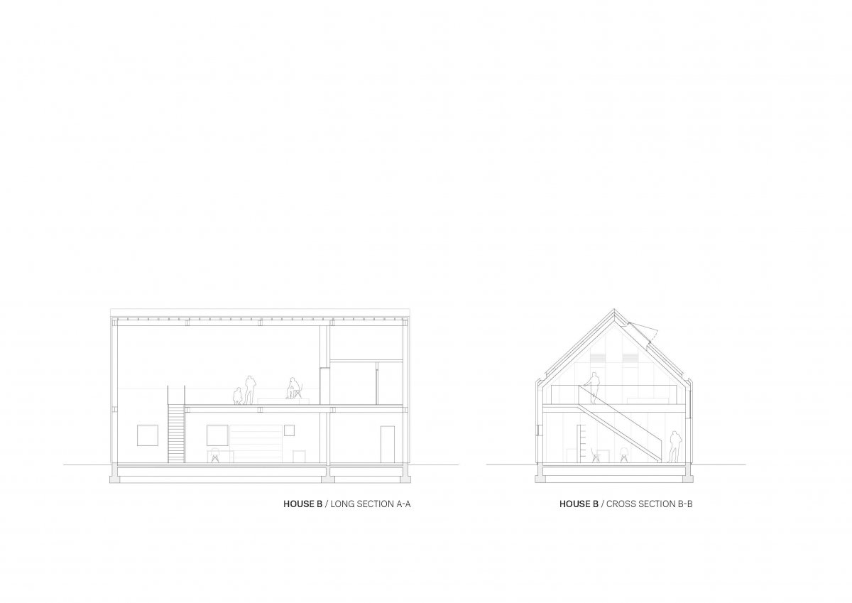 HOUSE B SECTIONS