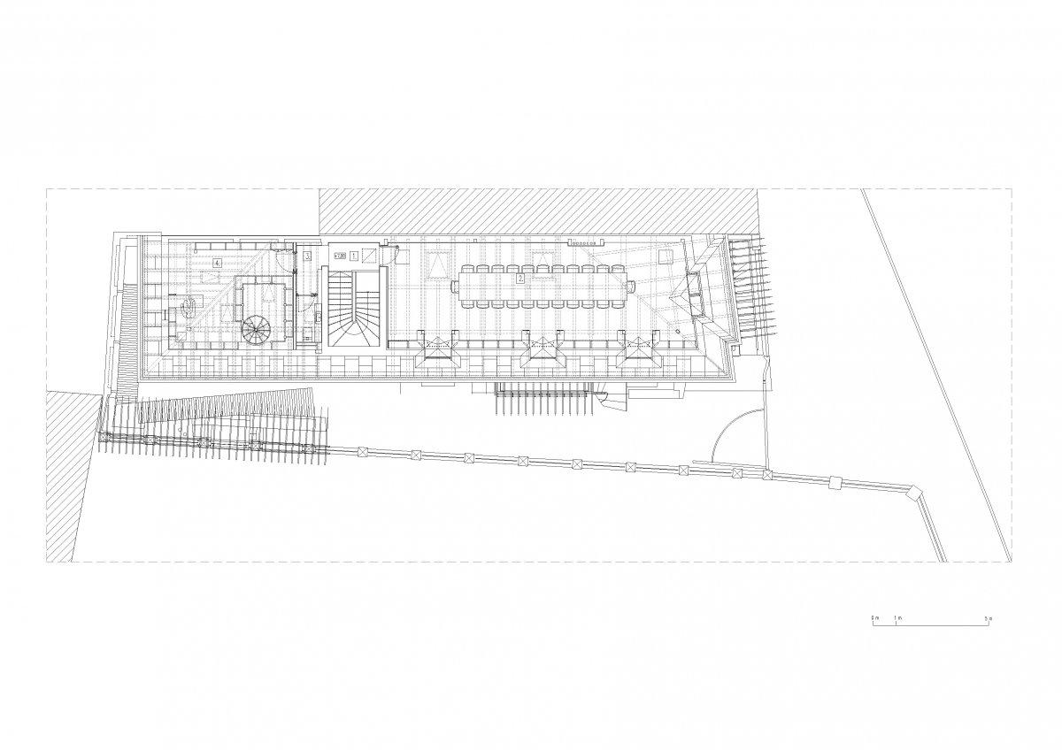 Attic floor plan