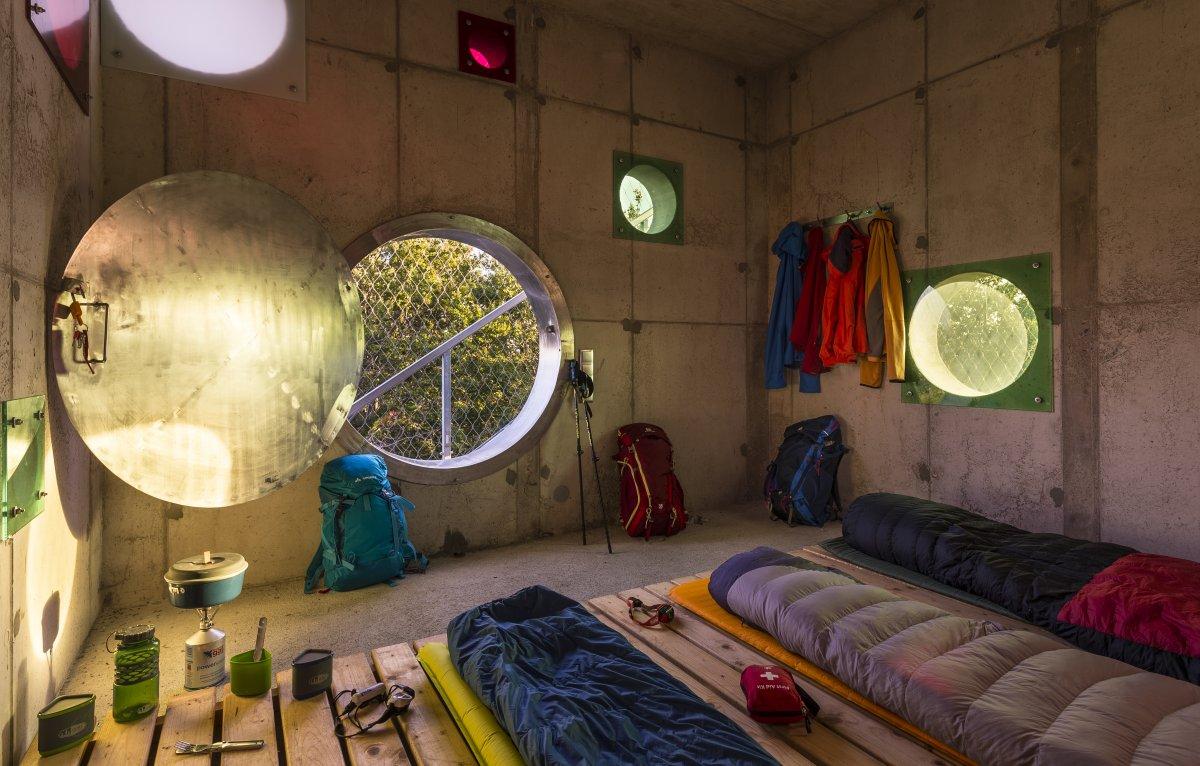 bivouac shelter interior