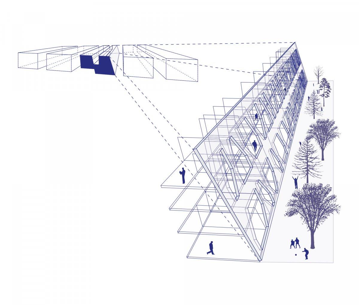 Diagram-passage-park