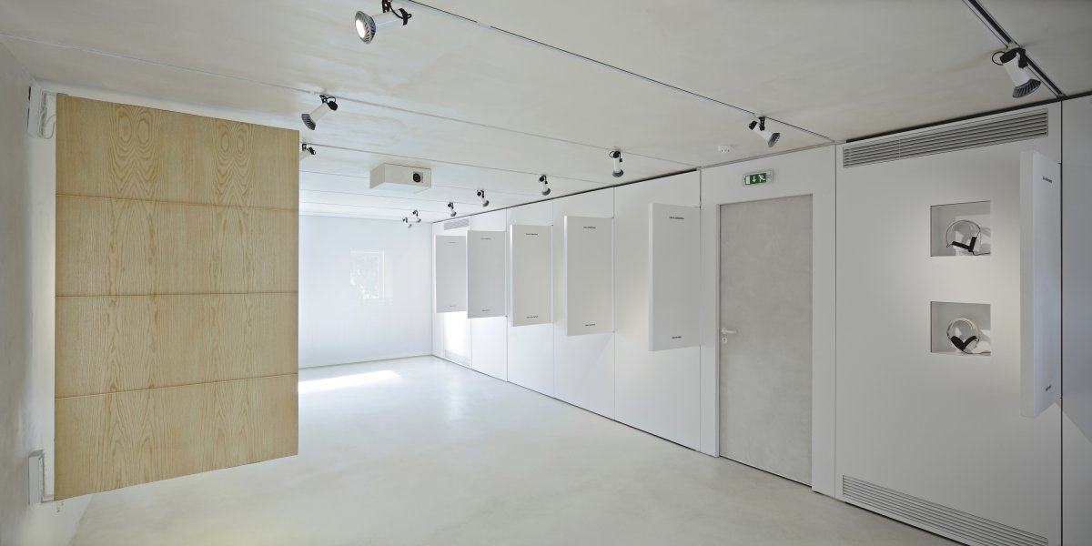Communal room as exhibition space