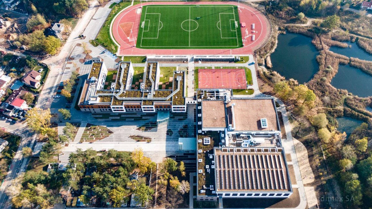 MCER, Aerial View