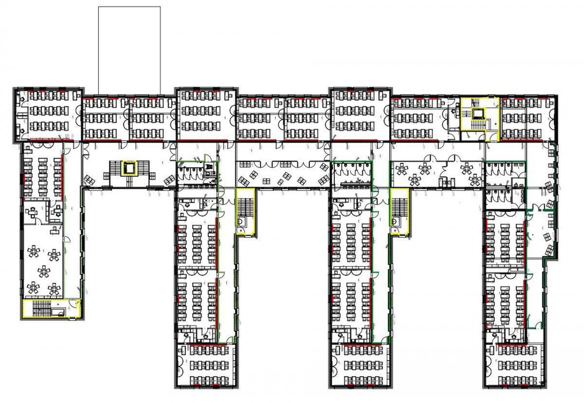 Primary School, Plan View