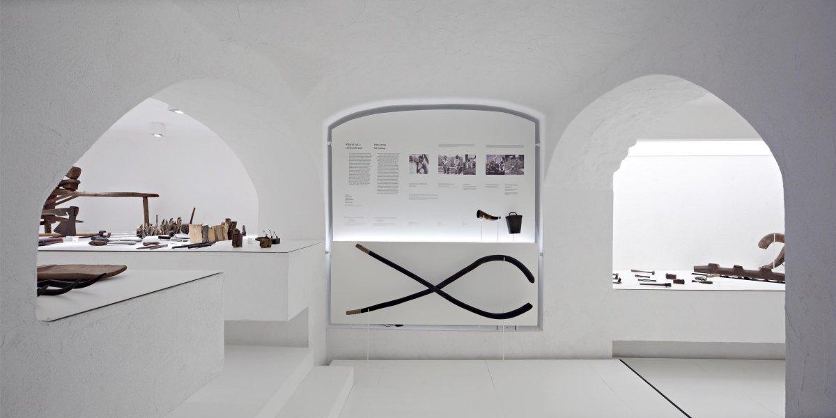 Ethnographic exhibit entrance