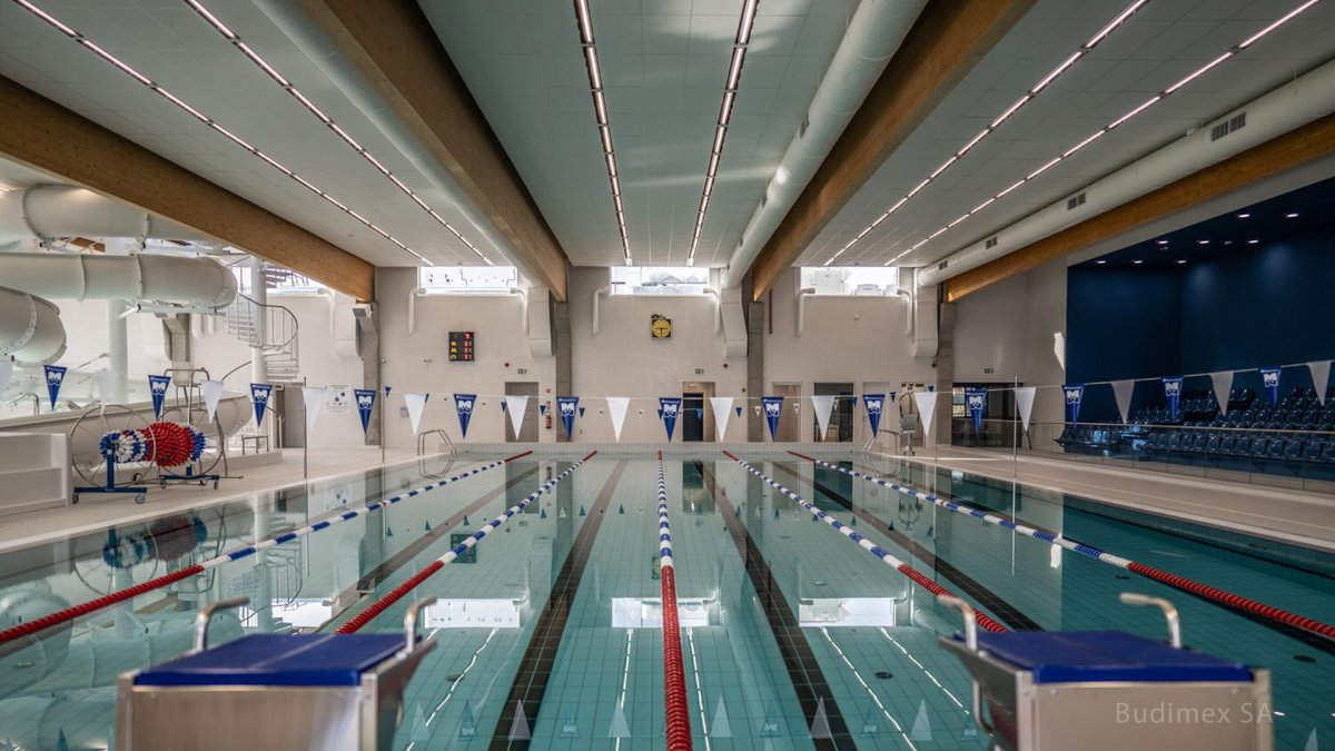 Multifunctional Building, Swimming Pool