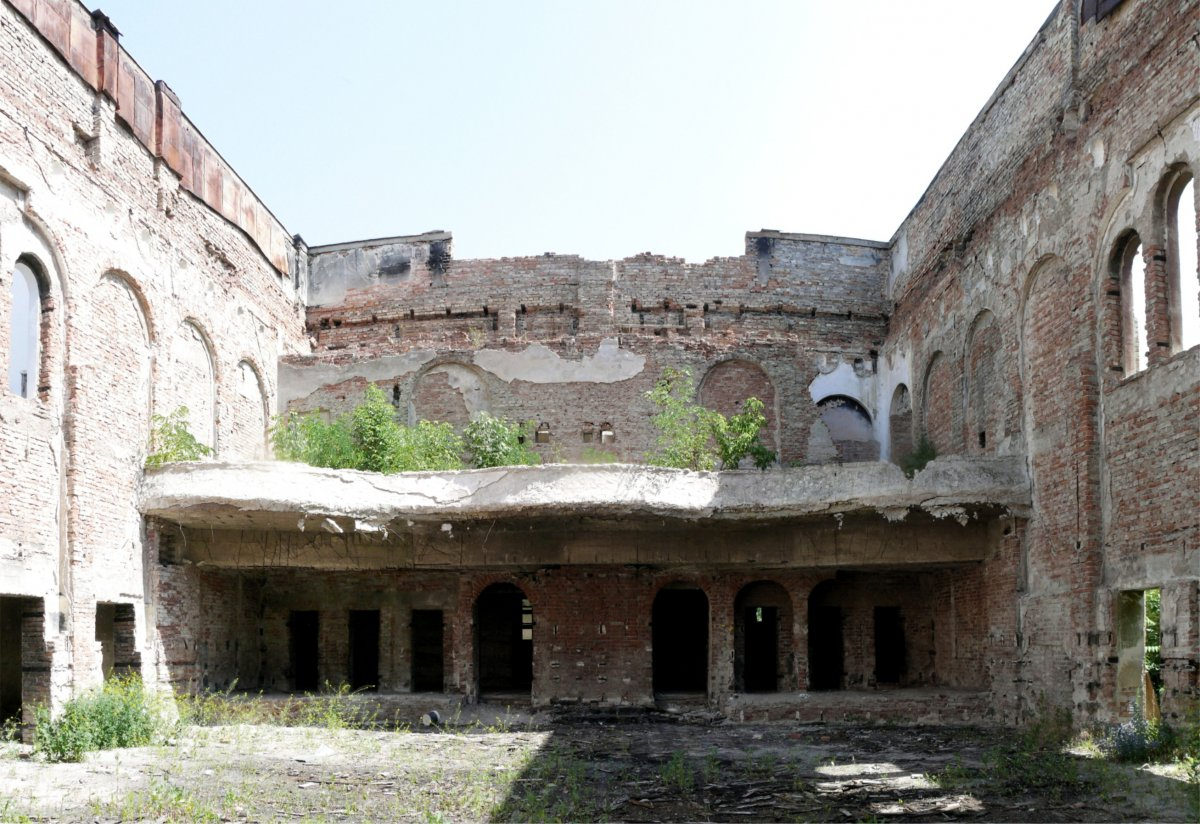 The Main Hall existing situation